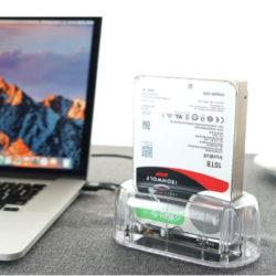 """Estación de acoplamiento Orico para discos duros USB 3.1 Gen2 10 Gbit / SATA para HDD y SSD  2.5 y 3.5"""" compatible con UASP por 31,99€ con código."""