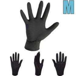 50 pares de guantes desechables de nitrilo, gran resistencia, talla M por 7,79€ con código.