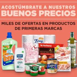 3.777 Artículos en oferta (3x2 ó 70% en Segunda Unidad) en el Supermercado de El Corte Inglés. Además vale de 10 euros para tu próxima compra.