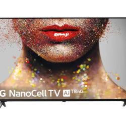 """¡Sólo hoy! Televisor LG  75NANO796, 75"""" NanoCell 4K UHD, procesador Alpha 7 Gen. 2 IA con Alexa integrada por 721€. A mitad de precio suscribiéndote gratis a El Corte Ingles Plus."""