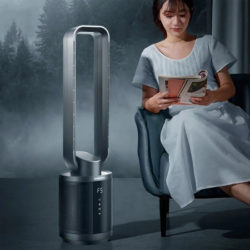 Ventilador sin aspas con purificador de aire Xiaomi Youpin Daewoo F9, 220V/30W por 343€ con código.