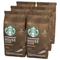 6 Paquetes de café House Blend de Starbucks (6x200 gramos) por 15,60€.