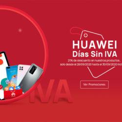 ¡Días Sin IVA en Huawei!
