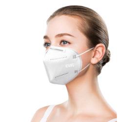 50 mascarillas FFP2 N95 para protección contra patógenos y polvo por 13,93€.