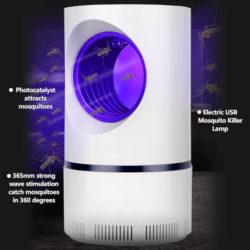 Trampa para mosquitos con luz UV por 7,49€.