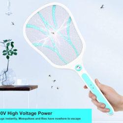 Raqueta eléctrica matamosquitos, 1200 mAh por 9,99€, antes 19,99€.