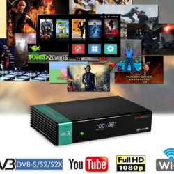Receptor GTMedia V8X Full HD por 39,99€ antes 57,99€.