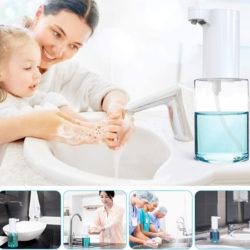 Dispensador automático de jabón 350ml por 15,99€ antes 31,98€.