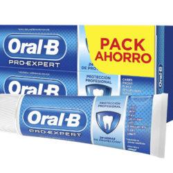 2 Envases de dentífrico Oral-B Pro-Expert protección profesional (2x75ml) por sólo 3,42€.