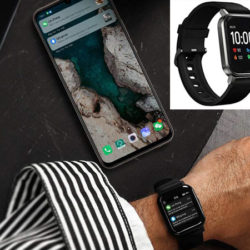 Smartwatch Xiaomi Haylou LS02, BT 5.0, 12 modos deportivos, IP68 por 18,23€.
