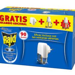 Raid Eléctrico anti mosquitos con aplicador y 2 recambios por sólo 4,35€.