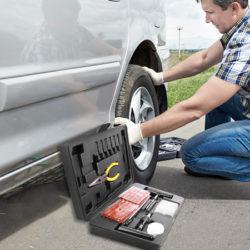 Kit para reparar todo tipo de neumáticos (100pcs) Teccpo/Popoman por 15,47€ antes 25,79€.