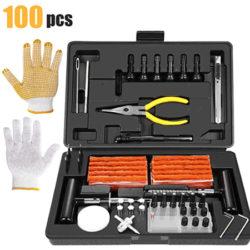 Kit para reparar todo tipo de neumáticos (100pcs) Teccpo por 15,25€ antes 21,79€.
