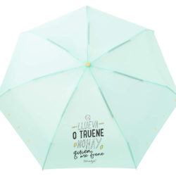 Paraguas plegable de 19 cm Mr Wonderful por sólo 12,00€.
