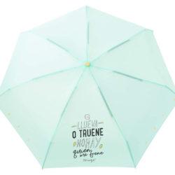Paraguas plegable de 19 cm Mr Wonderful por sólo 12,00€.