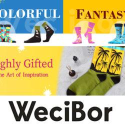 10 pares de calcetines Wecibor por 4,99€ (tobilleros) 10,99€ (largos).