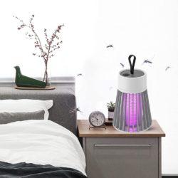 Lámpara UV mata insectos con resistencia eléctrica por 9,99€.