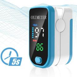 Pulsioxímetro de dedo y monitor de frecuencia cardíaca por 6,99€.