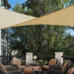 Toldo exterior rectangular (3x4M) anti UV, transpirable, impermeable por 17,99€ antes 29,99€.
