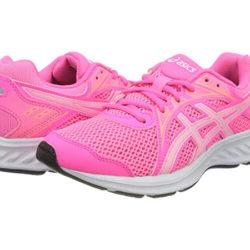 Zapatillas para niñas ASICS por 17,95€.