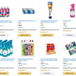 Grandes ofertas en la limpieza, belleza, afeitado y cuidado personal de Amazon.