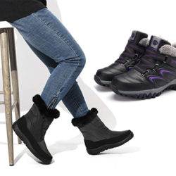 Botas de invierno para mujer por 25,99€/16,59€.