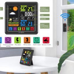 Estacion meteorológica con sensor exterior Koogeek por 21,99€.