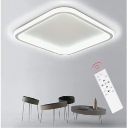 Plafón LED 34W, 3200 lúmenes, IP20 con mando por 41,99€ antes 69,99€.
