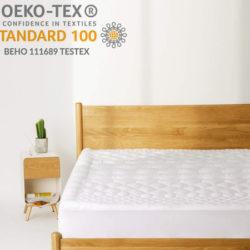Topper de espuma de microfibra para colchón Bedsure, hipoalergénico y transpirable 15,49€ antes 30,99€.  por