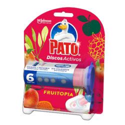 Pato Discos Activos para el inodoro aroma Fruitopia, aplicador y recambio por sólo 1,99€.