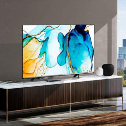 "Televisor Hisense ULED 65"" 4K, Quantum Dot, Dolby Vision, Dolby Atmos, Vidaa U 4.0 con IA, y Alexa por 749,00€ y 58'' por 409,90€."