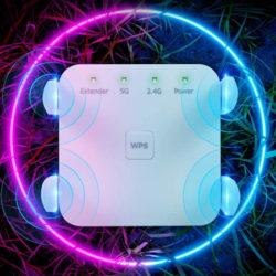 Repetidor de señal Wifi 1200mbps/WPS por 24€ antes 59,99€.