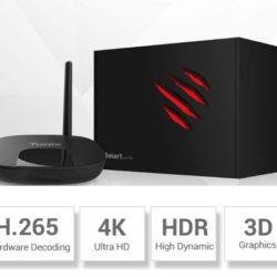 TV Box TaNix Hi6S, procesador Hisilicon, 4K,/1080P UI, BT 4.0, Android 9.0 a mitad de precio: 24,99€ antes 49,99€.