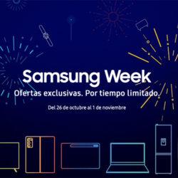 Sigue la Samsung week: Una semana de ofertas exclusivas en smartphones y electrodomésticos