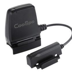 Sensor de velocidad y candecia dual bluetooth 4.0/ANT+/ BLE, impermeable (IP67) por 10,98€.