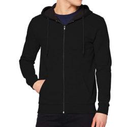 Chaqueta deportiva FM London Hyfresh Zipped con capucha para hombre por sólo 13,99€.