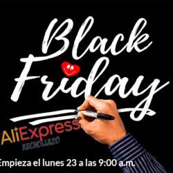 ¡El lunes a las 9 de la mañana comienza el Black Friday en Aliexpress! Listado de cupones y chollos desde España. Actualizado: listado completo de las 580 ofertas de Plaza.
