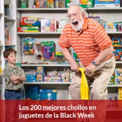 Los mejores chollos en juguetes del Black Friday de Amazon