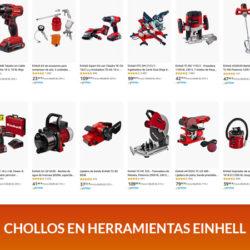 Hasta un 40% en todo tipo de herramientas Einhell.