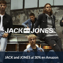 Black Friday en Amazon: Pantalones, boxers, polos, camisetas, jerseys y sudaderas Jack and Jones al 30% de descuento.