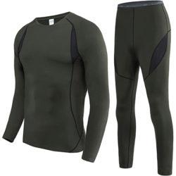 Conjunto de ropa térmica interior por 11,99€ para hombre y 10,99€ para mujer.