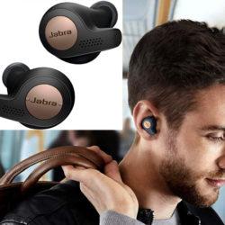 Auriculares Jabra Elite Active 65t con sensor de movimiento, IP56 por 55,99€ antes 119,99€.
