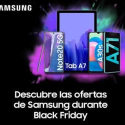 Black Friday en PcComponentes: Smartphones Samsung de última generación con descuentos de hasta un 30%.