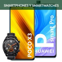 ¡CyberMonday en Amazon! Las mejores ofertas en smartphones y smartwatches de Samsung, Xiaomi, OnePlus y Huawei con precios actualizados.