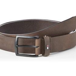 Cinturón de piel Tommy Hilfiger talla 80 por sólo 15,63 euros. Antes 49,99€.