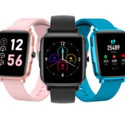 Reloj inteligente Xiaomi Kumi KU1s con monitor de ritmo cardíaco, termómetro y tensiómetro por 20,22€.