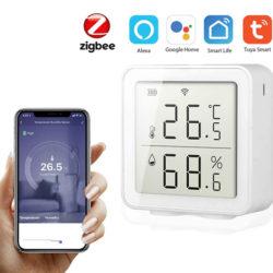 Sensor de temperatura WiFi compatible con Alexa y Google Home por 17,99€ antes 27,99€.