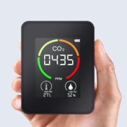 Mini medidor portátil de CO2 Festnight por 17,99€ antes 35,98€.