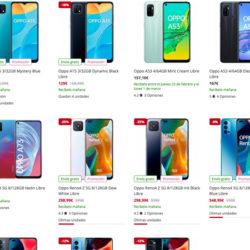 Ofertas en smartphones Oppo en PcComponentes