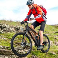 Bicicleta de montaña eléctrica Fafress, motor de 250W/36V, IP65 por 779,99€ antes 1299€.